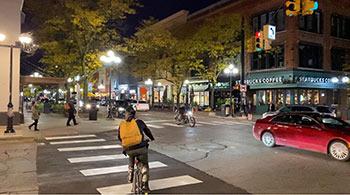 Night Time in Ann Arbor